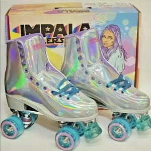 Impala Holographic Quad Roller Skates
